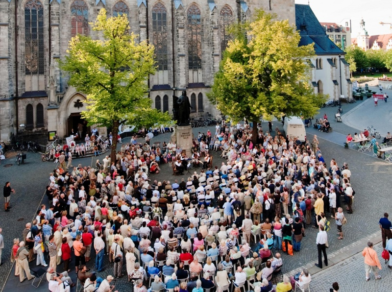 Monday Concerts at the Bach Monument; photo: D. Brzozka