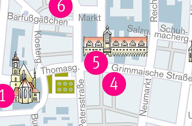 Map On the footsteps of Martin Luther | Celebrating 500 years of Reformation